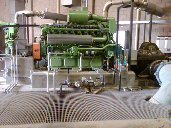 Natural Gas Engine Driven Compressor Solution - Irvine, California